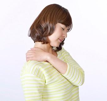 能代市 だいだい接骨院は肩こりの治療をしています。